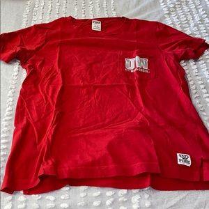 pink wisconsin shirt